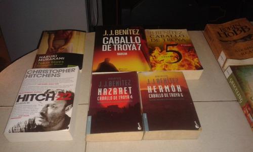 libros  caballo de troya sagas  varios