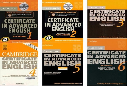 libros cae certificate in advanced english cambridge +audios