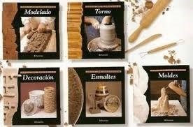 libros: coleccion   aula de ceramica  5 vol. color  parramon