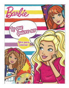 Libros Colorear Barbie 4 16 Pg Recuerdos Fiesta Infantil