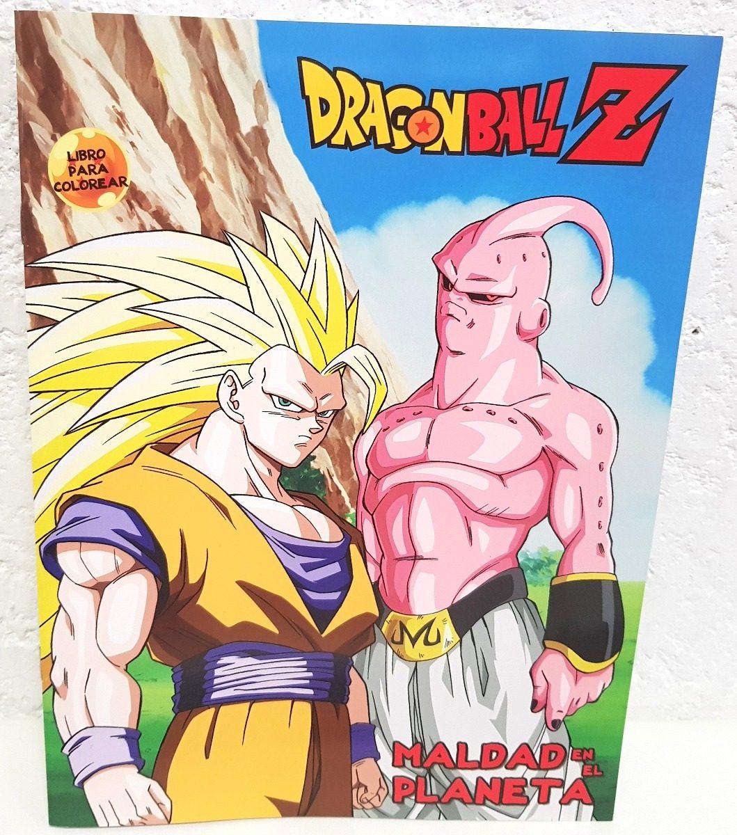 Libros Colorear Dragon Ball Z 10 Pz Regalos 16 Paginas - $ 70.00 en ...
