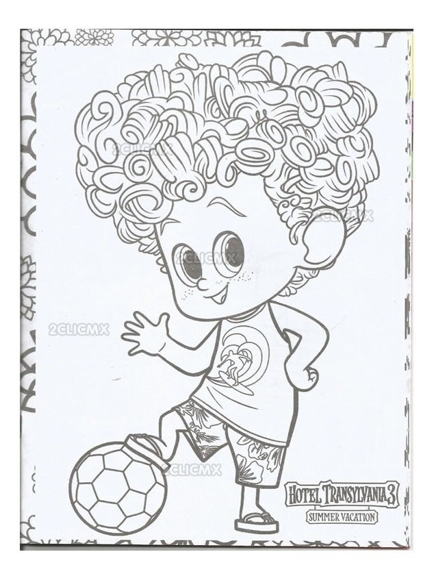 Dibujos Hotel Transilvania 3 Para Colorear Juegos De Hotel
