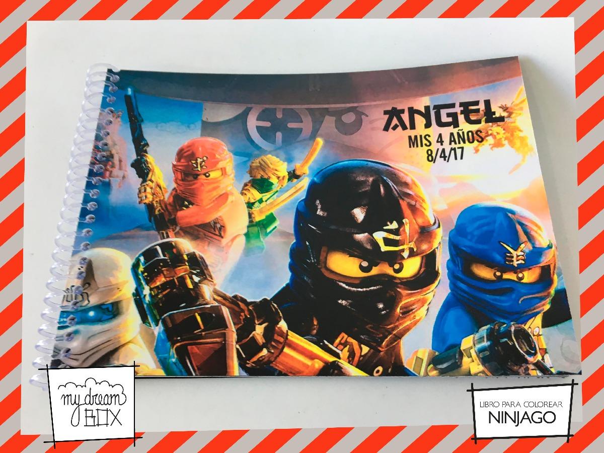 Libros Colorear Souvenir Evento Cumple Infantil Lego Ninjago - $ 435 ...