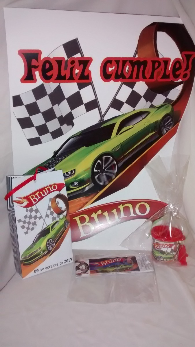 Libros Colorear Souvenirs Originales Hot Wheels Autos - $ 260,00 en ...