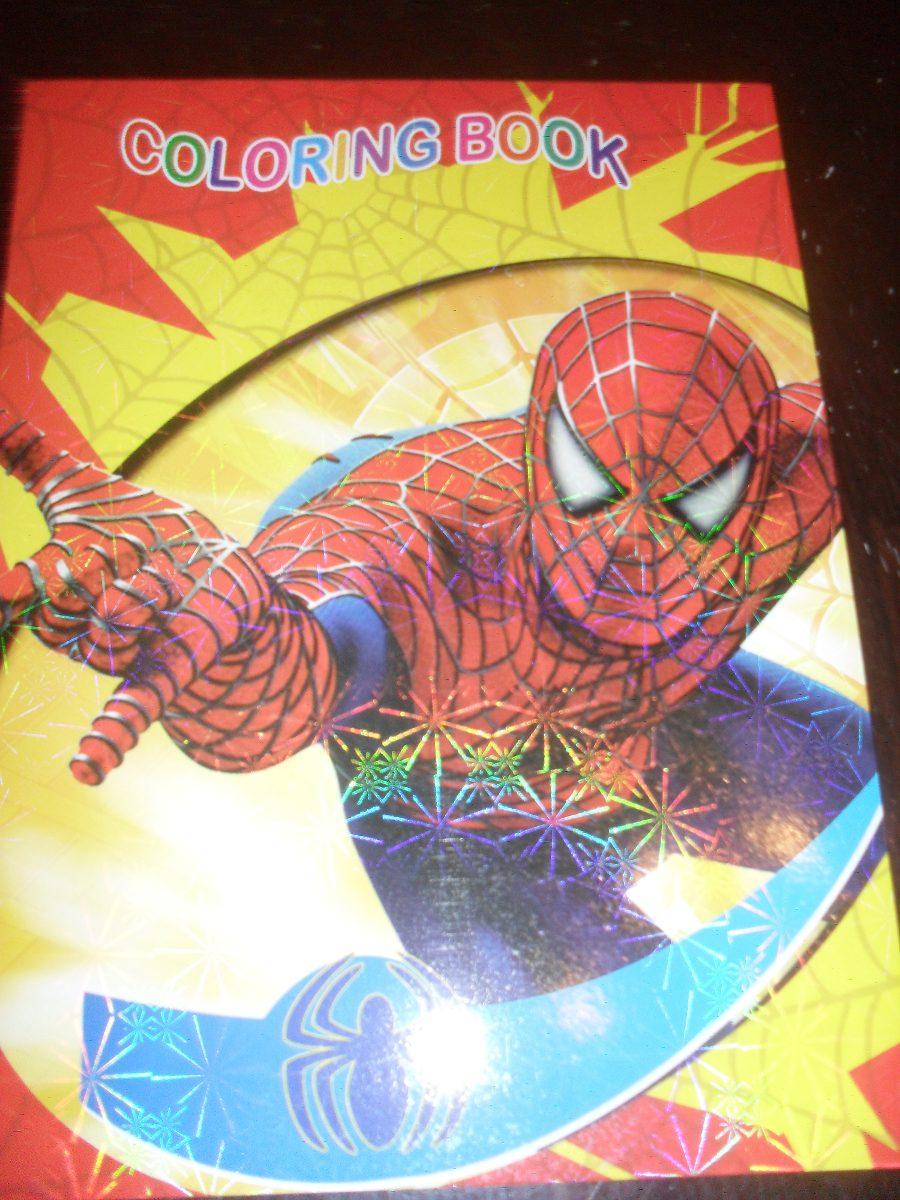 Asombroso Libro De Color Spiderman Cresta - Dibujos Para Colorear En ...