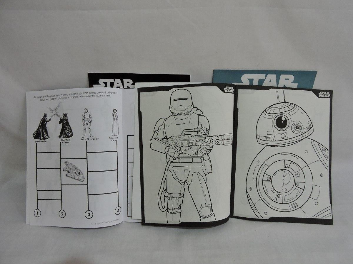 Libros Colorear Star Wars 10 Pz Recuerdos Premios Bolo - $ 70.00 en ...