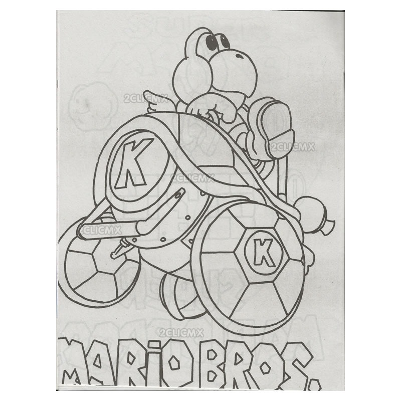 Imagenes De Mario Bros Para Colorear Mario Bross Coloring Pages 1