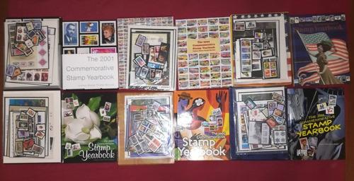 libros commemorativos de estampillas 2001-2006