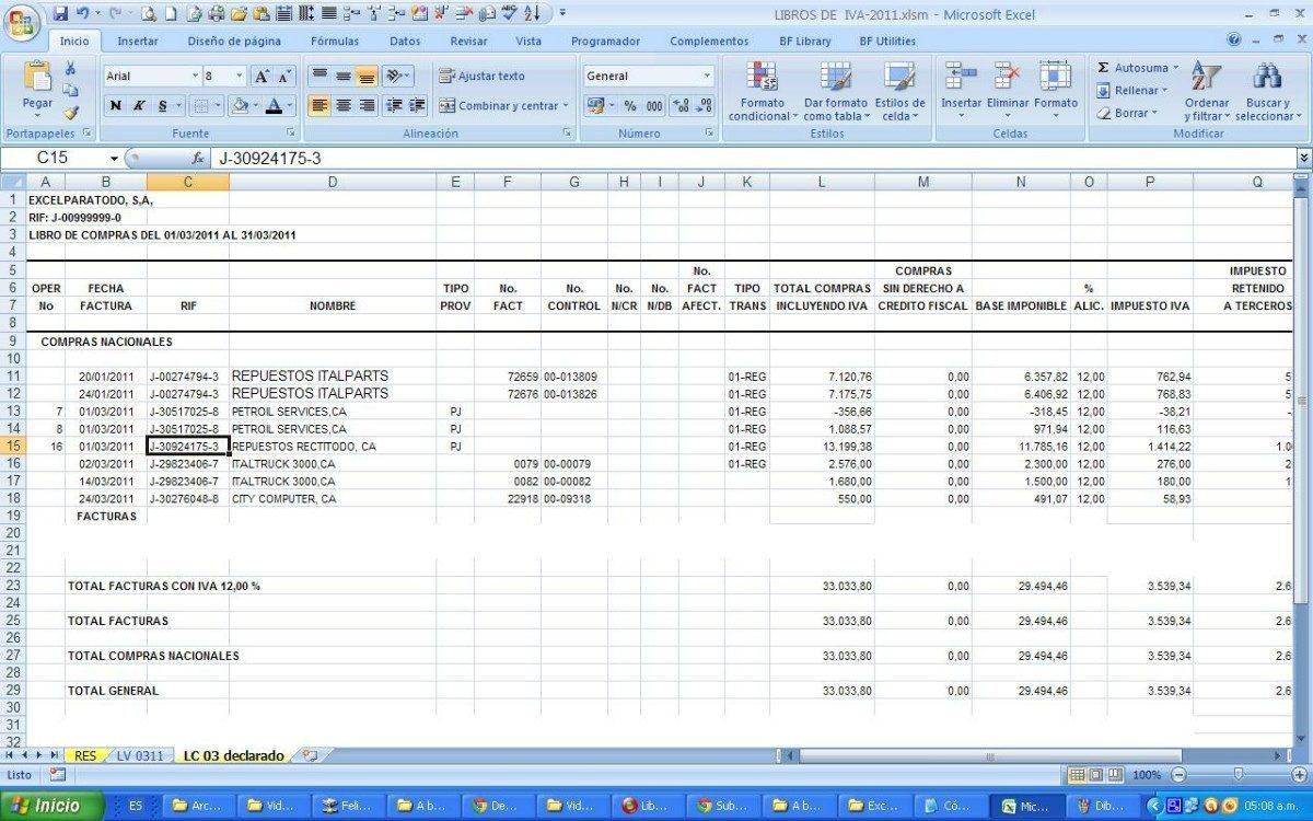 Libros Compra Y Venta En Digital Con Formulas - Bs. 300,00