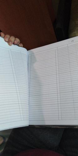 libros contables  de 100 folios