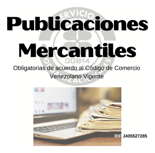 libros contables , factureros y publicación mercantil