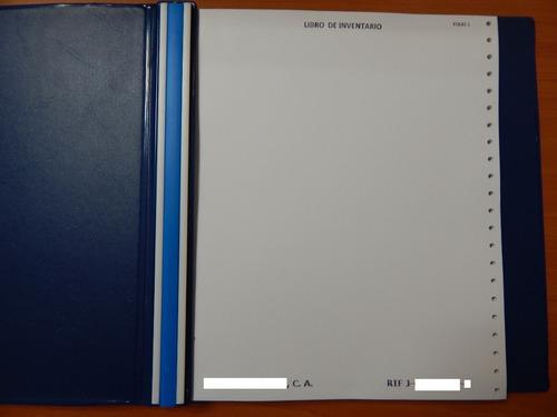 libros contables formas libres y formas continuas