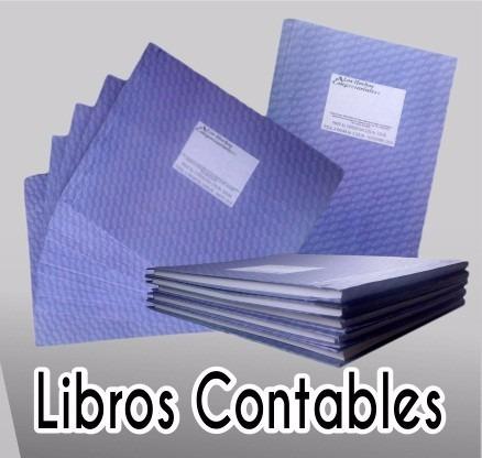 libros contables o contabilidad 2, 3 columnas,actas y otros