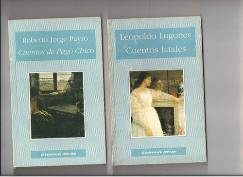 libros cronica 100 x 100 (lote de dos libros)