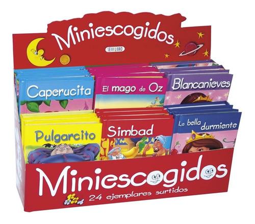 libros. cuentos clasicos. col. miniescogidos. infantil. 24u