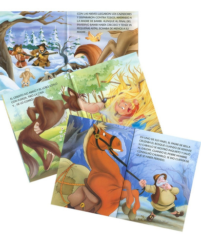 libros. cuentos clásicos de dos en dos. x6 unidades