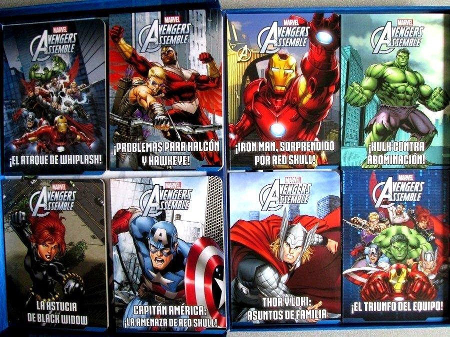 Libros Cuentos Los Vengadores Avengers 8 Tomos + Cd - S/ 95,00 en ...