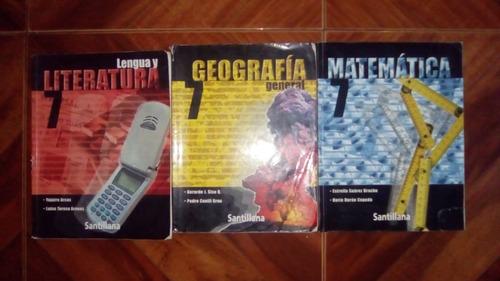 libros de 1er año (7mo grado) de bachillerato