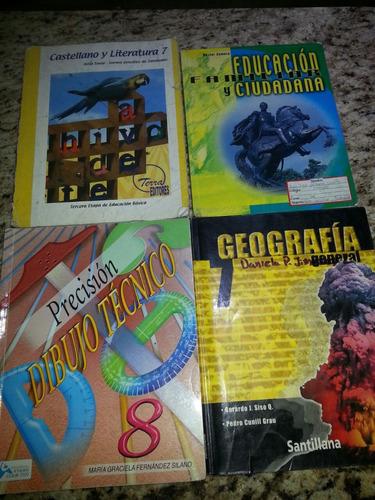 libros de 3r grado, 4to grado,7mo, 8vo año y de ingles