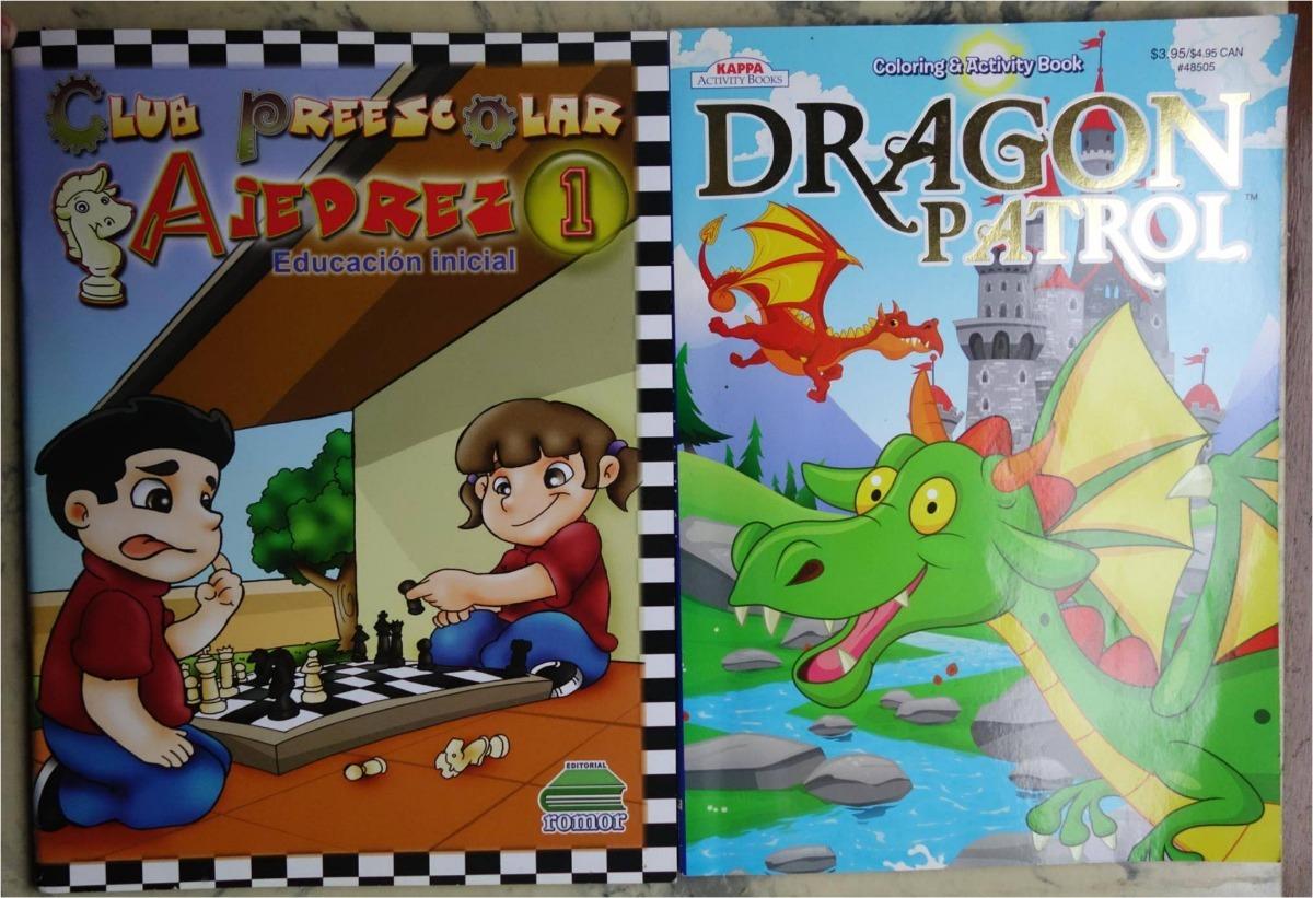 Libros De Actividades Para Niños Y Para Colorear Dragones - Bs ...