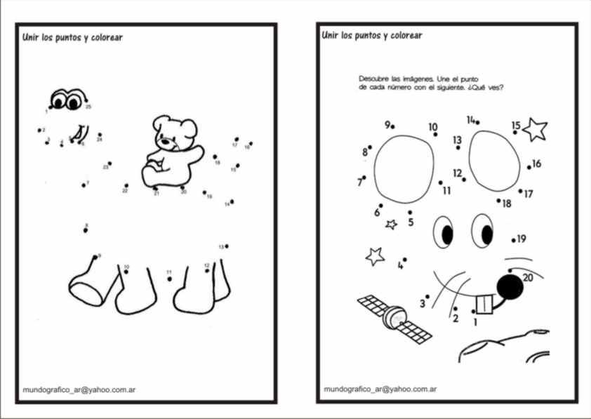Asombroso Punto A Punto Para Colorear Páginas 1 10 Friso - Ideas ...