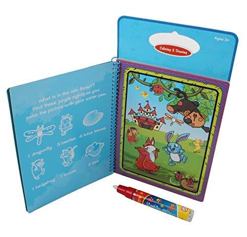 Libros De Acuarela Solmod Libros De Dibujo Para Colorear Agu
