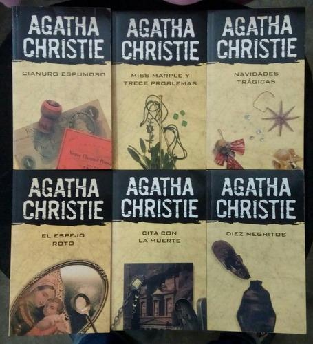 libros de agatha christie - precio / unidad