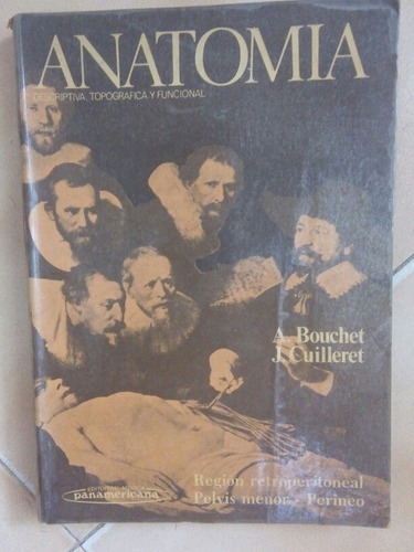 libros de anatomía de bouchet