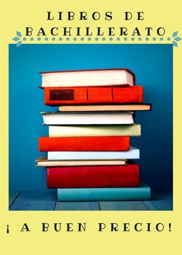 libros de bachillerato en buen estado