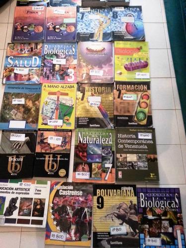 libros de bachillerato variados 1ero 2do 3ro 4to 5to año