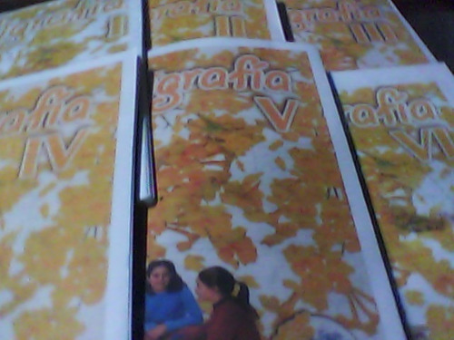 libros de caligrafia flor de araguaney 1,2,3,4,5 250 mil