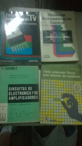 libros de circuitos integrados , electronica y sistemas auto