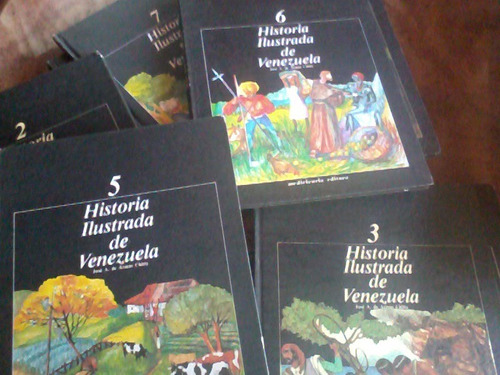 libros de colección historia ilustrada de venezuela