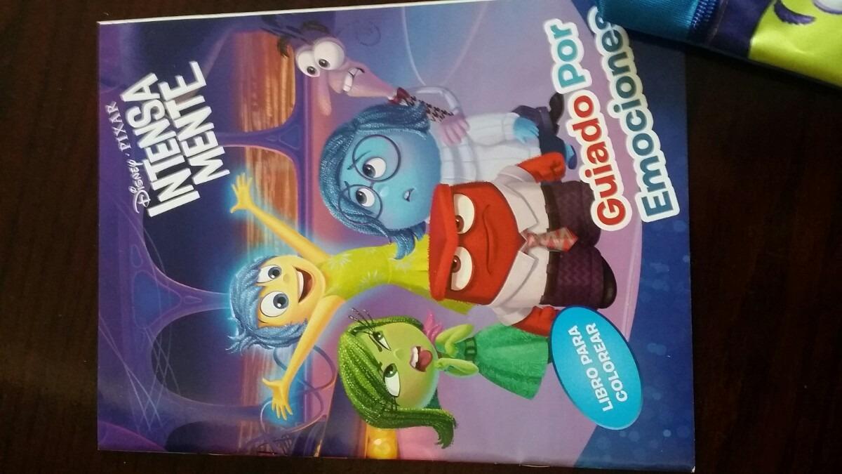 Libros De Colorear Intensamente Y Productos Para Fiestas - $ 8.00 en ...