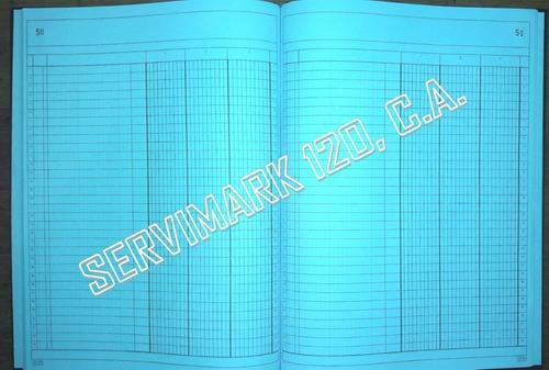 libros de contabilidad 100 folios - papel bond - fabricantes