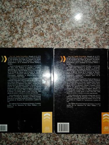 libros de derecho civil 1, 2 y 3