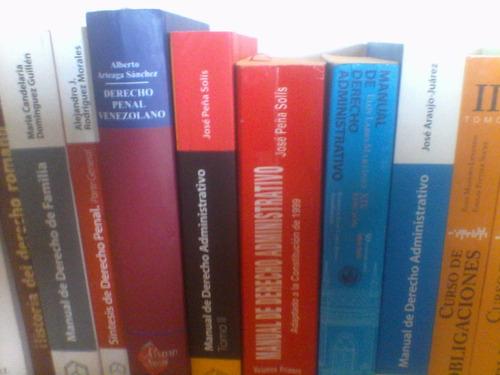 libros de derecho. textos nuevos!!