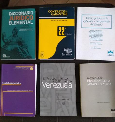 libros de derecho. titulos varios