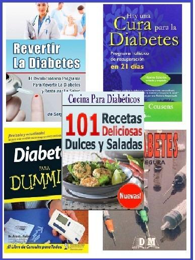 Libros De Diabetes/diabeticos En Pdf. Paq - $ 49.00 en