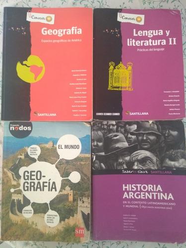 libros de geografía , historia y lengua