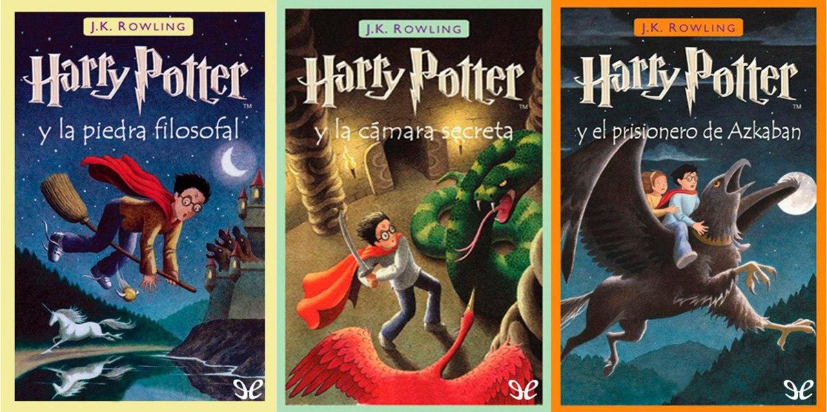 Libros De Harry Potter Coleccion Completa En Pdf - U$S 3