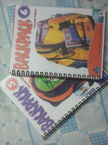 libros  de ingles backpack fyr lois full color