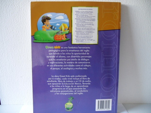 libros  de ingles great kids numero 3- con  cd son nuevos