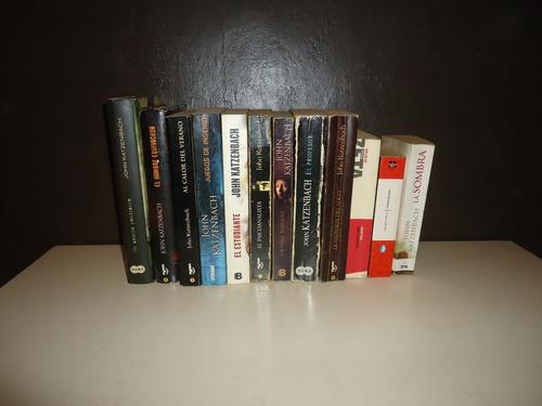 libros de john katzenbach colección completa 13 libros
