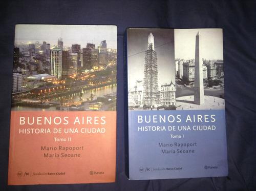 libros de la ciudad de buenos aires, son 2 tomos.