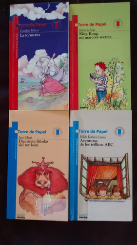 libros de lectura torre de papel