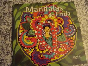 Libros De Mandalas Frida Kahlo Para Pintar