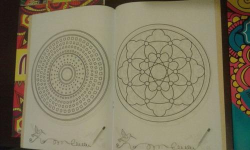 libros de mandalas para colorear