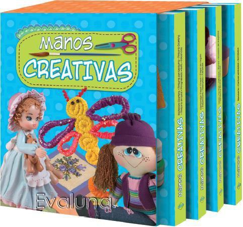 libros de manualidades y artesanias manos creativas pintura