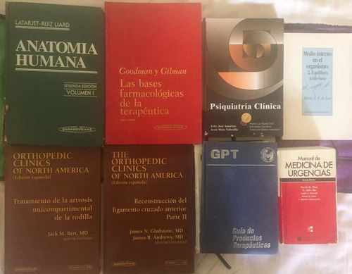 libros de medicina oferta